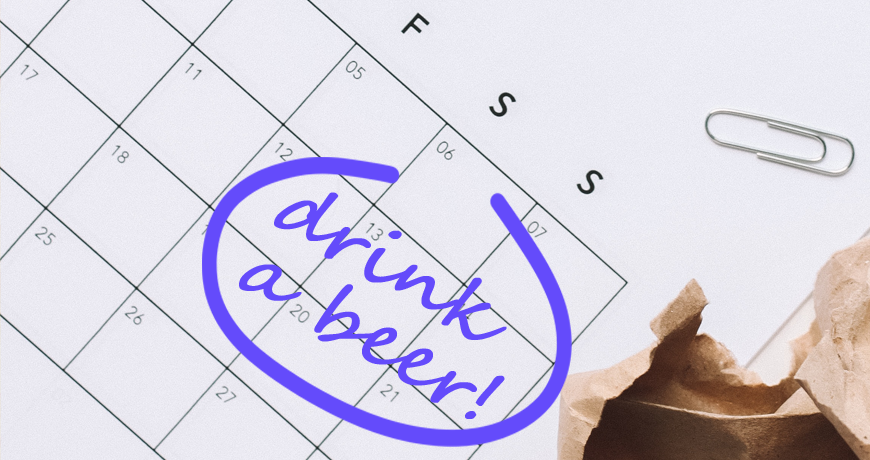 Інфографіка: календар домашнього пивоваріння