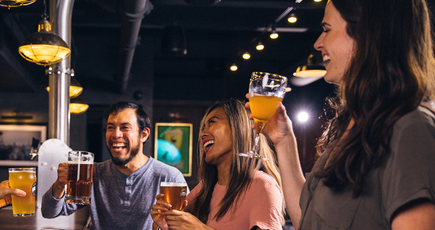 Пиво поднимает настроение!