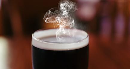 Пиво, которое согревает
