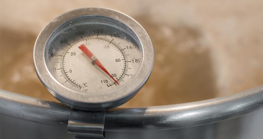 Температурные паузы при затирании солода для пива
