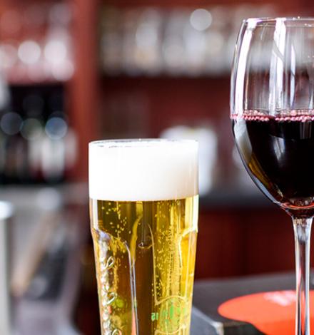 Vine vs Beer